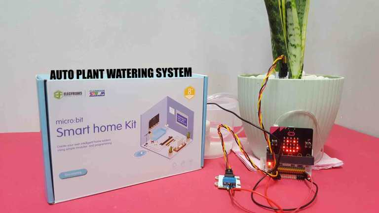 Microbit Smart Home Kit: Auto Plant Watering System