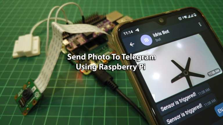 Send Photo of Burglar To IoT Telegram Bot Using Raspberry Pi