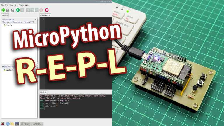 Learn Microcontroller Code Easier With MicroPython REPL
