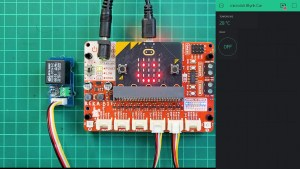 Control and Monitor Using Blynk IoT App and micro:bit