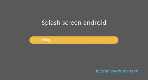 How to make Splash screen android studio in kotlin