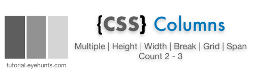 Multiple CSS Columns count