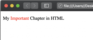 Inline elements in HTML Examples
