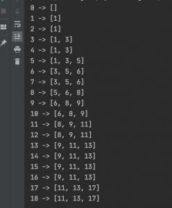 Python list slice