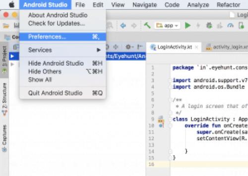 Android studio mac github