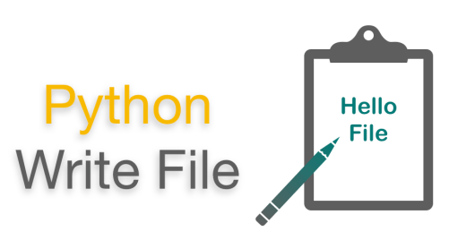 Python Write File (Python Write to Text File example)