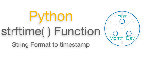 Python strftime Function | milliseconds | Examples - EyeHunts