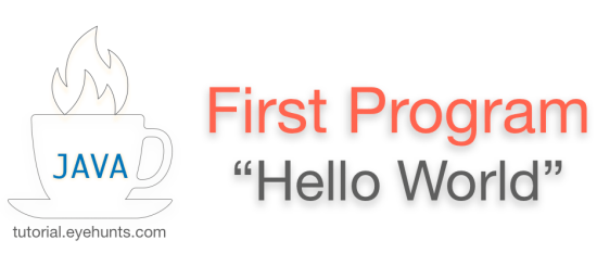 Java Hello World Program | Java First Program - EyeHunts