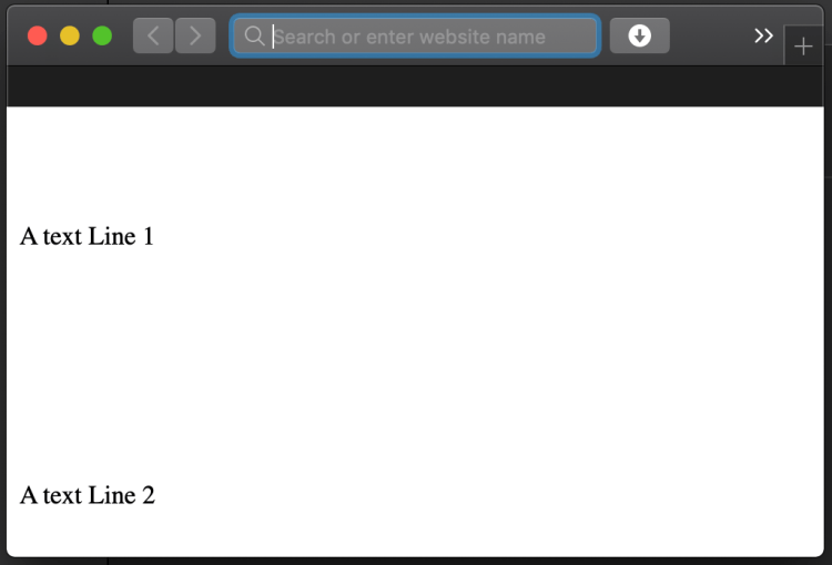 How to do HTML paragraph line spacing?