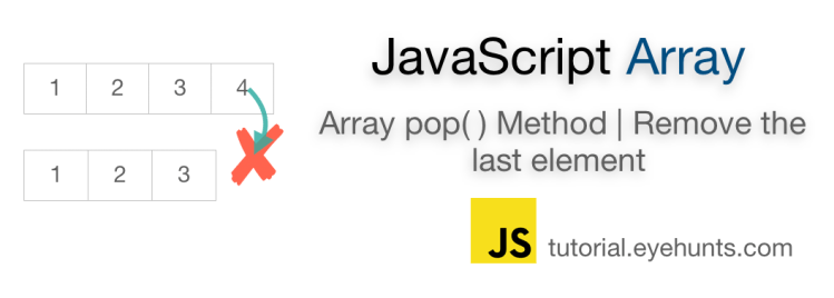 JavaScript array pop Method