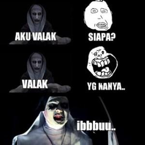 Meme lucu hantu valak