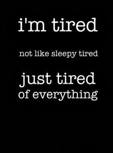 Dp bbm kata capek lelah