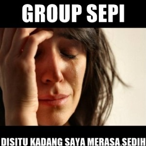 kumpulan meme grup sepi lucu kocak gokil terbaru buat dp