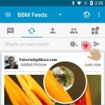 Cara Mudah Posting Foto Sebagai Status di BBM