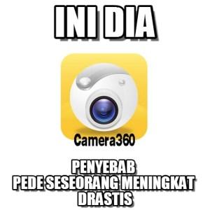 meme sindiran Camera 360