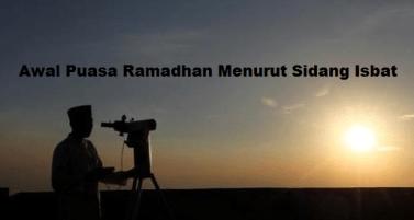 Awal Puasa Ramadhan 27 Mei 2017