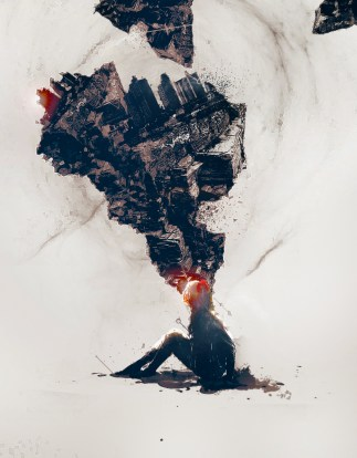 Create Unique Abstract Photo Manipulation in Photoshop with Human, Rock and City Stocks