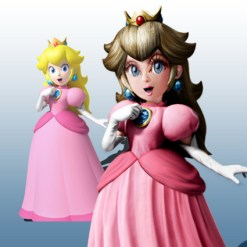 The Making of: Princess Peach Re-textured