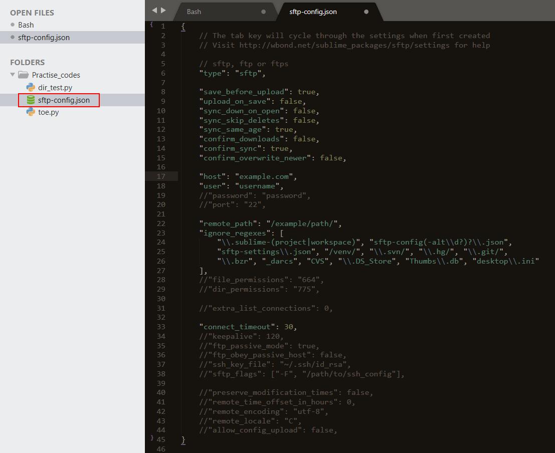 Sublime Textのリモート開発用 sFTPをセットアップする方法 - Tutorial ...