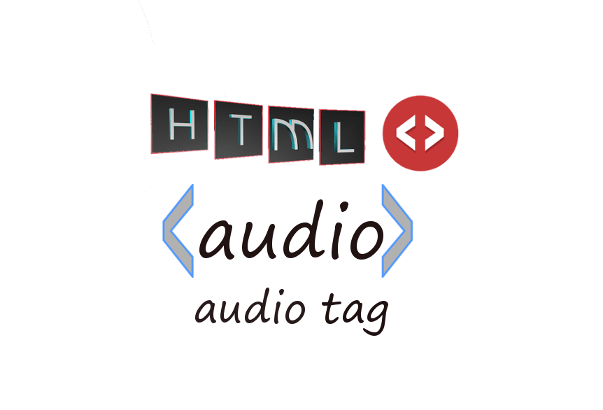 HTML audio tag