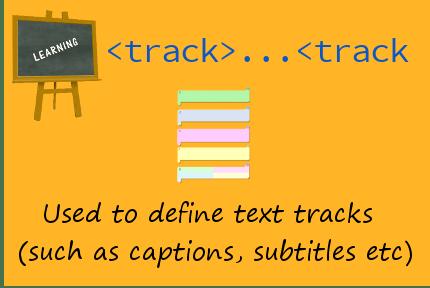 HTML track
