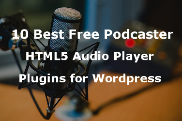HTML5 audio player plugin for wordpress