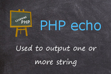 PHP echo statement