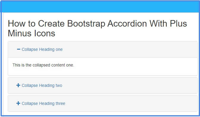 bootstrap-accordion-with-plus-minus-icons
