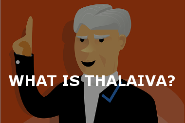What is thalaiva