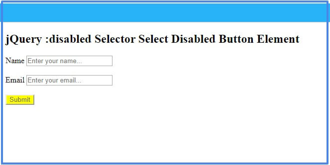 jquery-disabled-selector