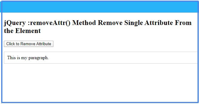 jquery-removeattr-method
