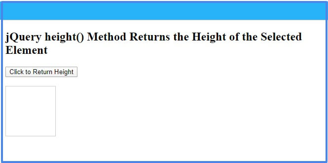 jquery-height-method