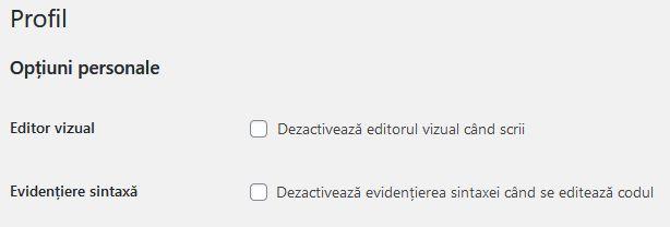 wordpress-dezactivare-editor-vizual-1