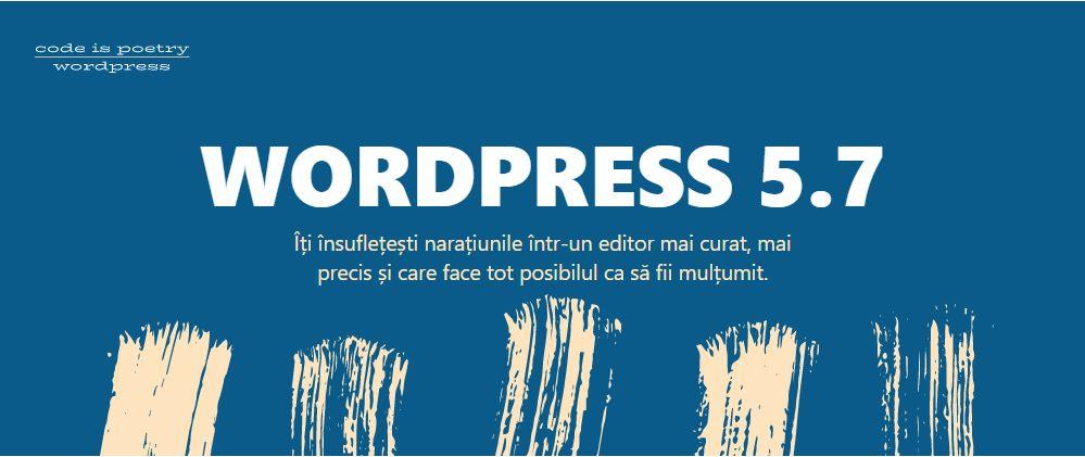 WordPress 5.7.