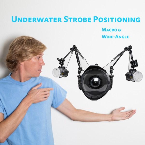 underwater strobe positioning tutorial video