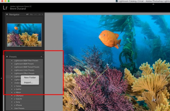 how to add a lightroom preset tutorial