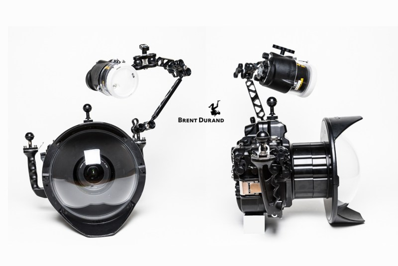 single strobe wide-angle positioning