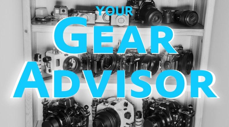 underwater camera gear advice