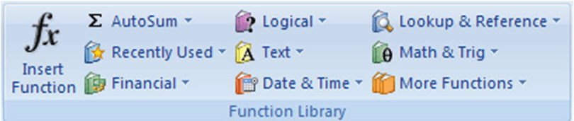 Excel Function Library