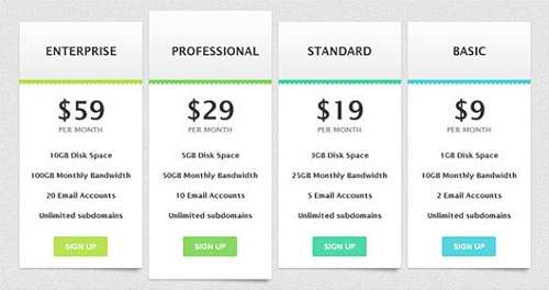 Beautiful-CSS3-Table-Pricing-Style