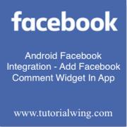 Tutorialwing - Android facebook comment widget logo