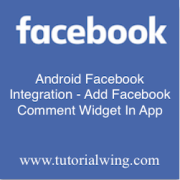 Tutorialwing - Android facebook comment widget logo