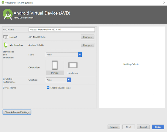 Tutorialwing - Android Studio Create Virtual Device Step4