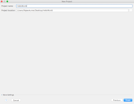 IntelliJ IDEA: Create Kotlin Project - Step 3
