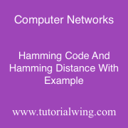 Tutorialwing Hamming Code and Hamming Distance Tutorial with Example