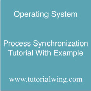 Tutorialwing operating system Process Synchronization in Operating System