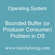 Tutorialwing Bounded Buffer or producer consumer problem in os bounded buffer problem in os