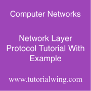 Tutorialwing computer network Network Layer Protocol tutorial example