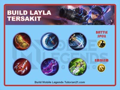 build Layla tersakit 2021