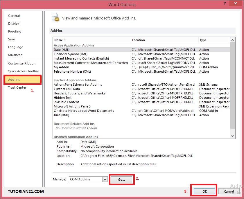 Mengatasi Microsoft Word Not Responding